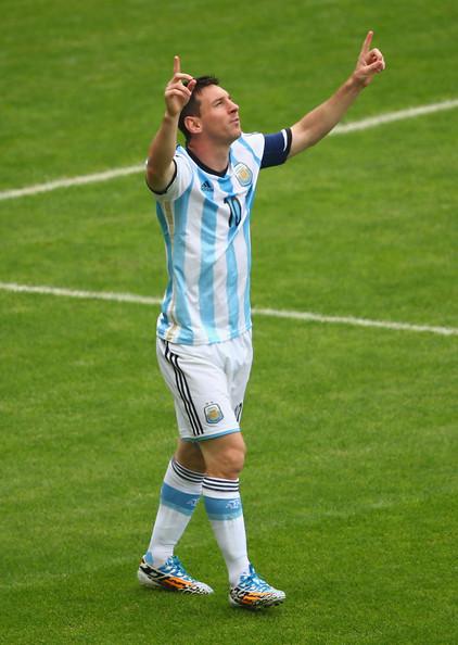 Messi huele a sangre y es figura en el Mundial. Foto de Quinn Rooney/Getty Images South America /Vía Zimbio