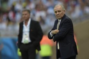 El planteo de Sabella secó al equipo ante Irán. Foto de Juan Mabromata / Agencia AFP.