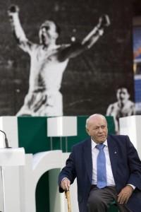 Di Stéfano, una leyenda de Real Madrid. Foto de FlynetPictures.com / Vía Zimbio.