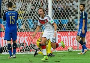 Goetze ingresó por Klose y marcó el gol que le dio la Copa del Mundo a Alemania. Foto de Matthias Hangst/Getty Images South America / Vía Zimbio