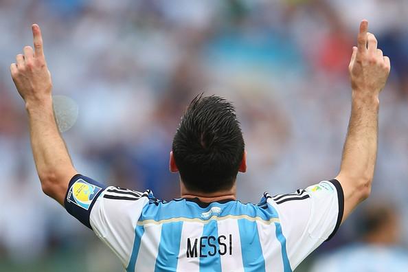 Messi sueña con levantar la Copa en el Maracaná. Foto de Ian Walton/Getty Images South America / Vía Zimbio.