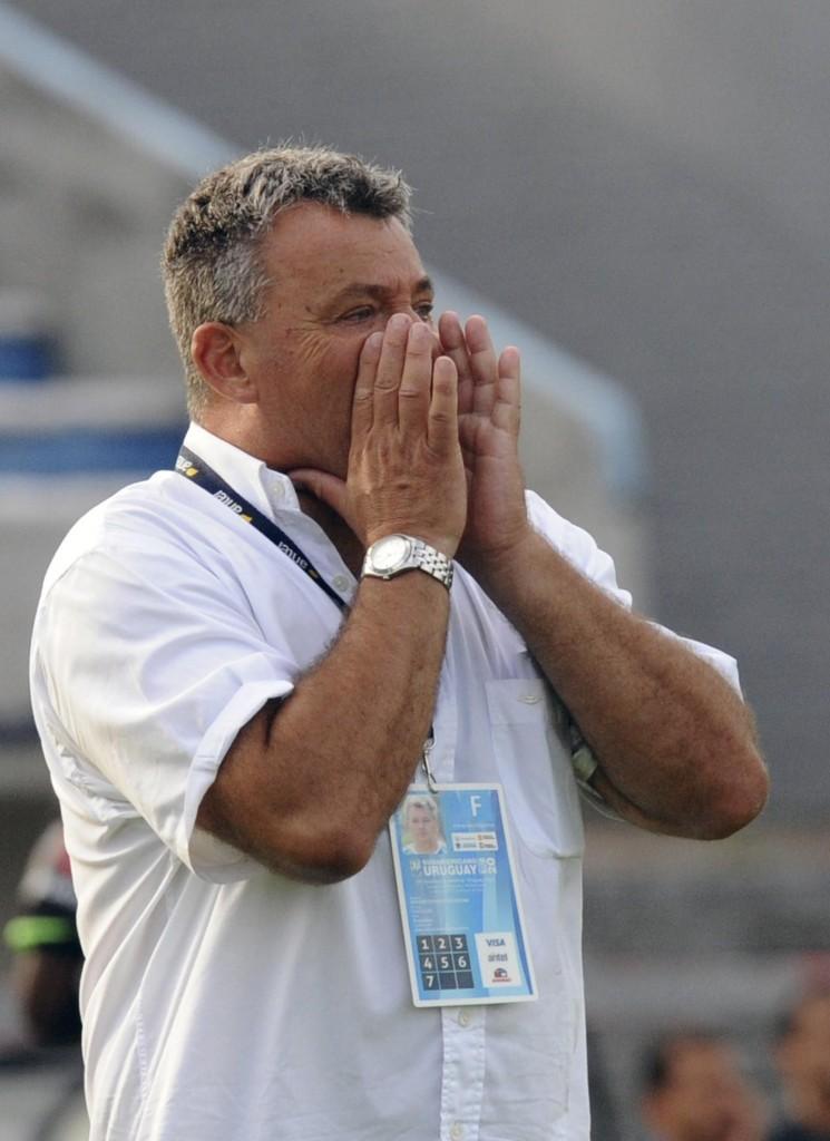 Humberto Grondona realizó declaraciones insólitas luego de ganar el Sudamericano Sub 20. Foto de Miguel Rojo / Agencia AFP.